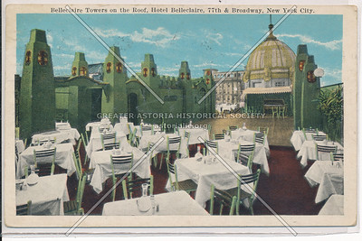 Belleclaire Towers on the Roof, Hotel Belleclaire, 77th & Broadway, New York City