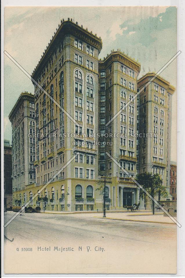 Hotel Majestic, N.Y. City