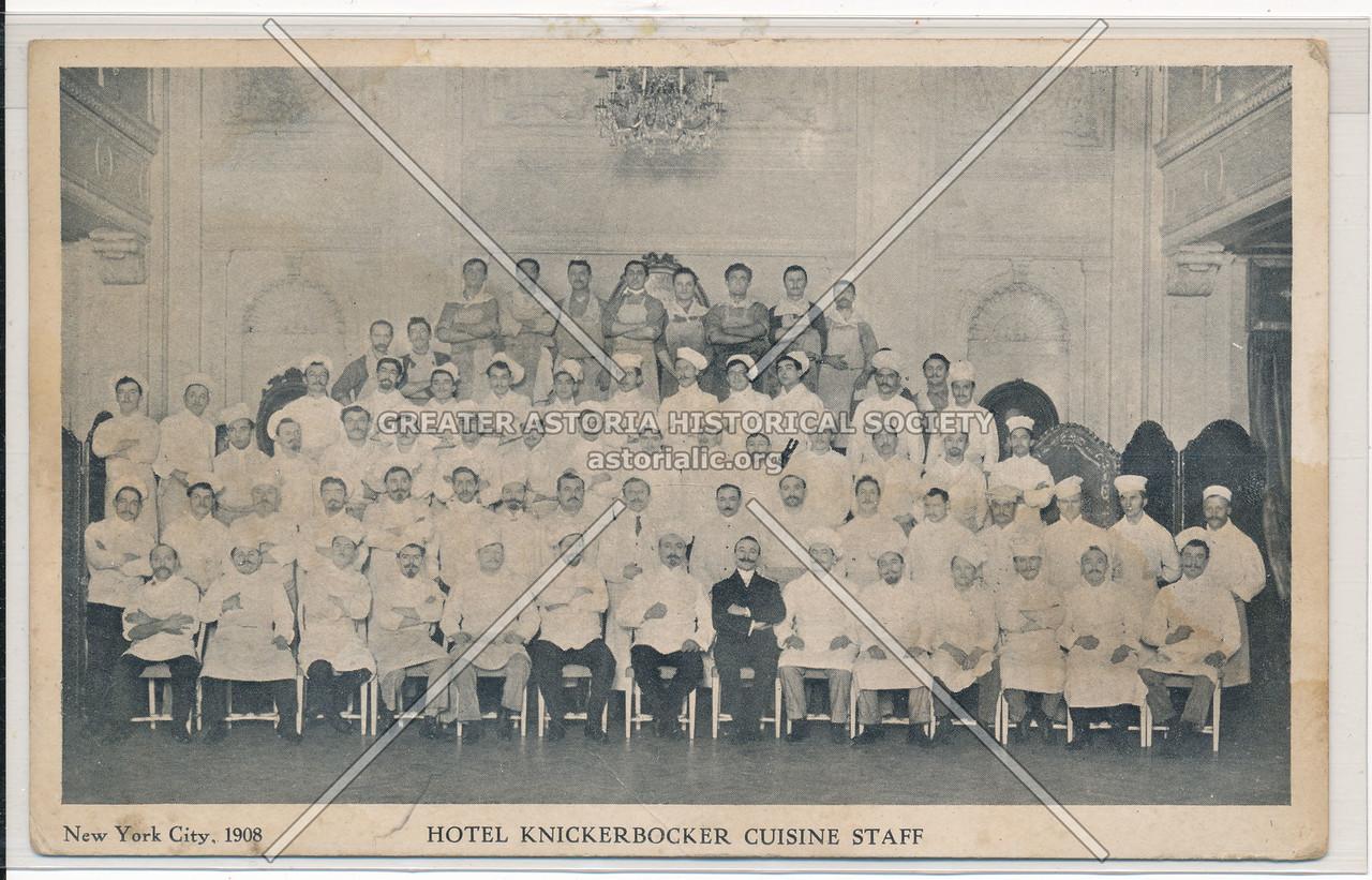Hotel Knickerbocker Cuisine Staff