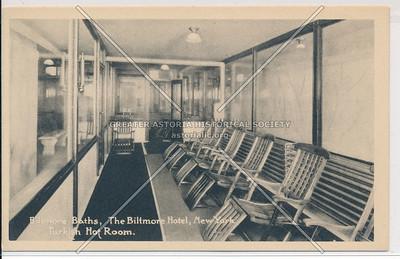 Biltmore Baths, The Biltmore Hotel, New York City