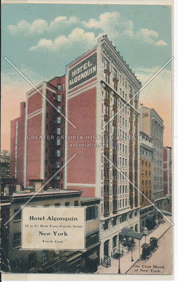 Hotel Algonquin, New York City