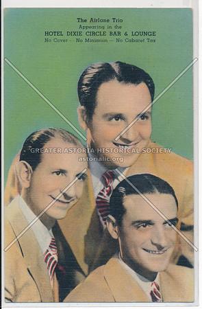 Airlane Trio, Hotel Dixie, NYC