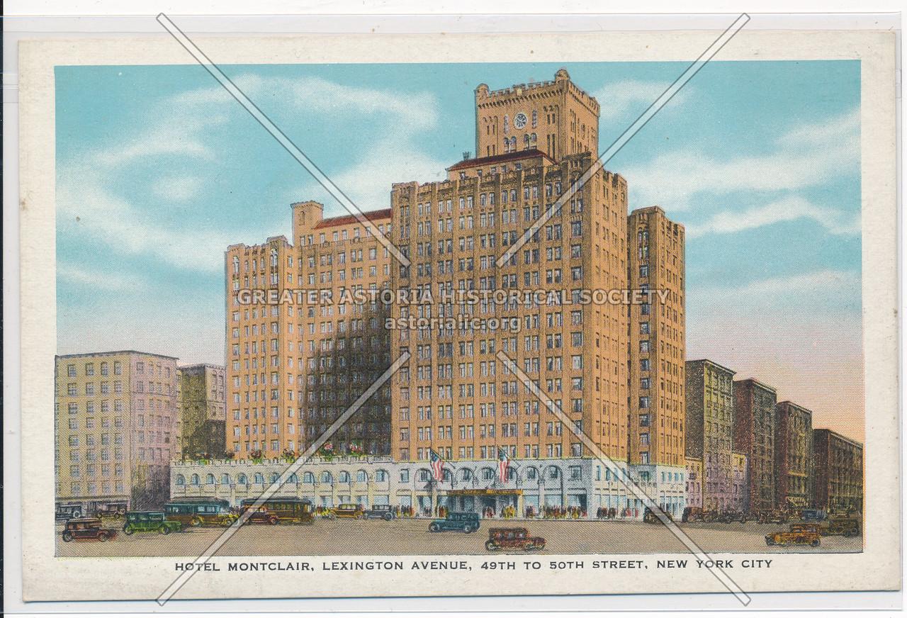 Hotel Montclair, Lexington Avenie, 49th To 50th Street, New York City