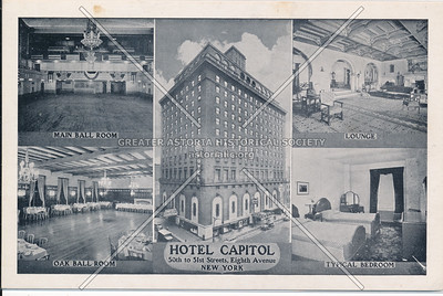 Hotel Capitol, 50th to 51st Sts, Eighth Ave., NYC