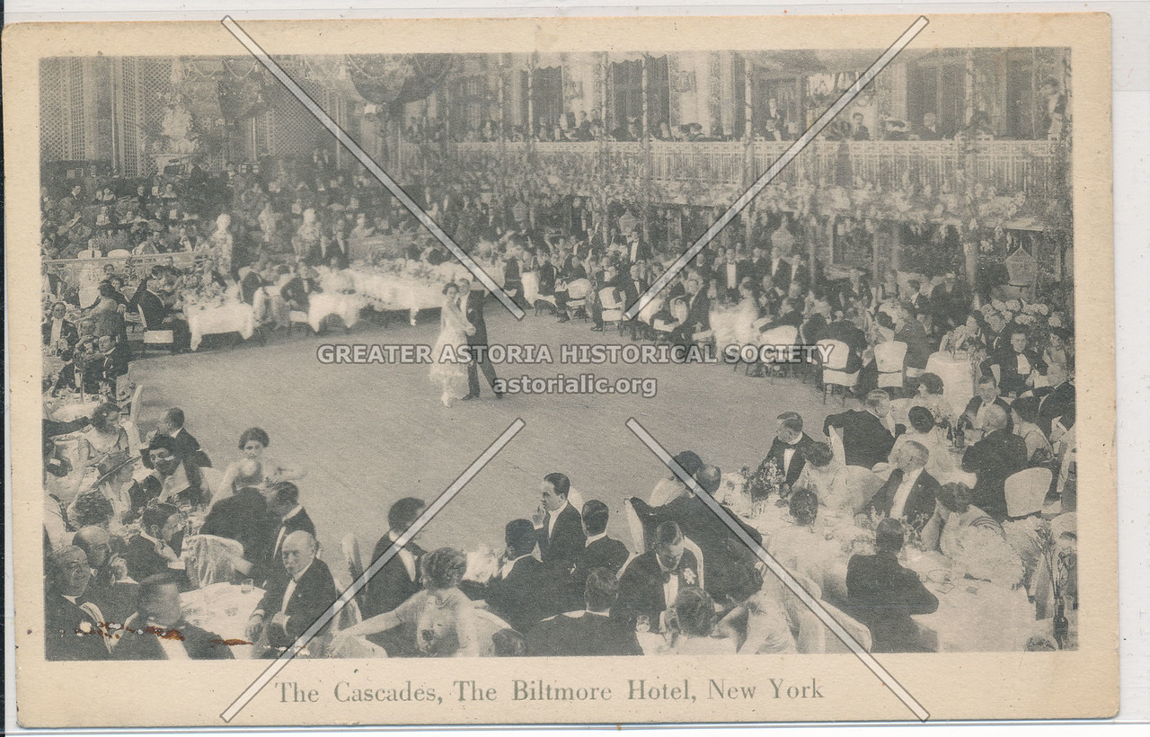 The Cascades, The Biltmore Hotel, New York City