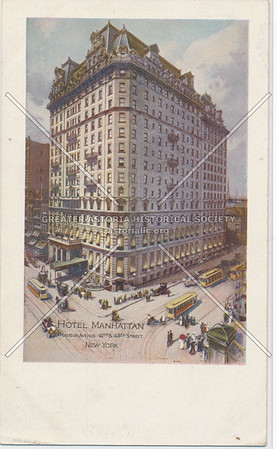 Hotel Manhattan, Madison Ave. & 42-43 St, New York