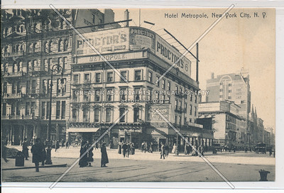 Hotel Metropole, New York City, N.Y.