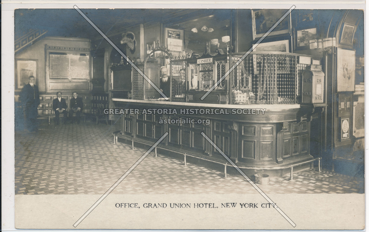 Office, Grand Union Hotel, New York City