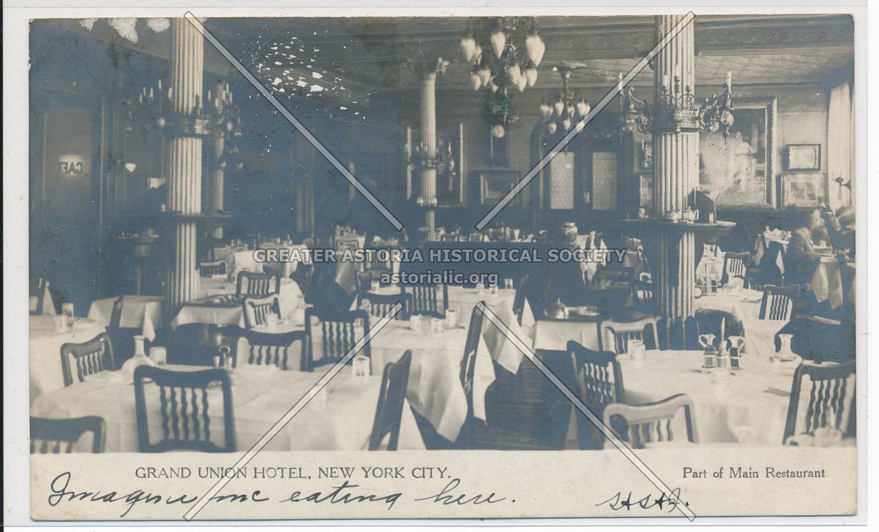 Grand Union Hotel, New York City