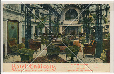 Hotel Endicott, Palm Room, 81st To 82nd Sts., Columbus Avenue, New York