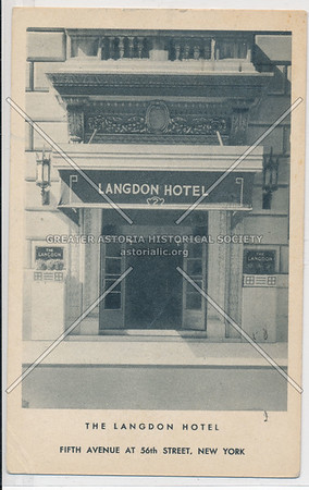 The Langdon Hotel, Fifth Avenue At 56th Street, New York