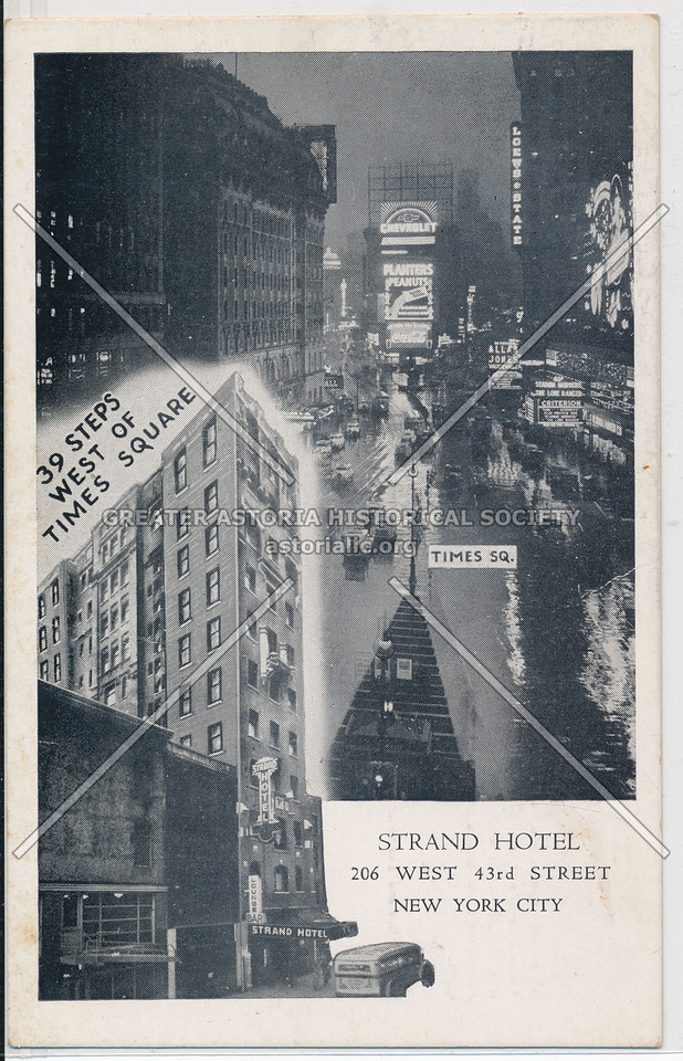Strand Hotel, 206 West 43rd St, NYC