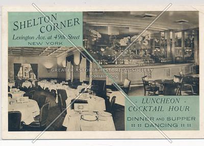 Shelton Corner, Lexington Ave. at 49th St, New York
