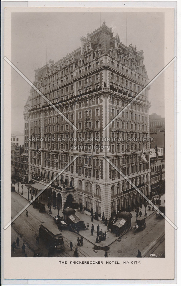 The Knickerbocker Hotel, NYC