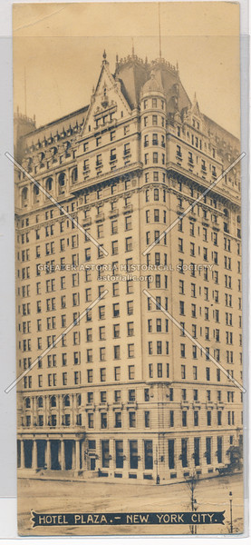 Hotel Plaza, New York City