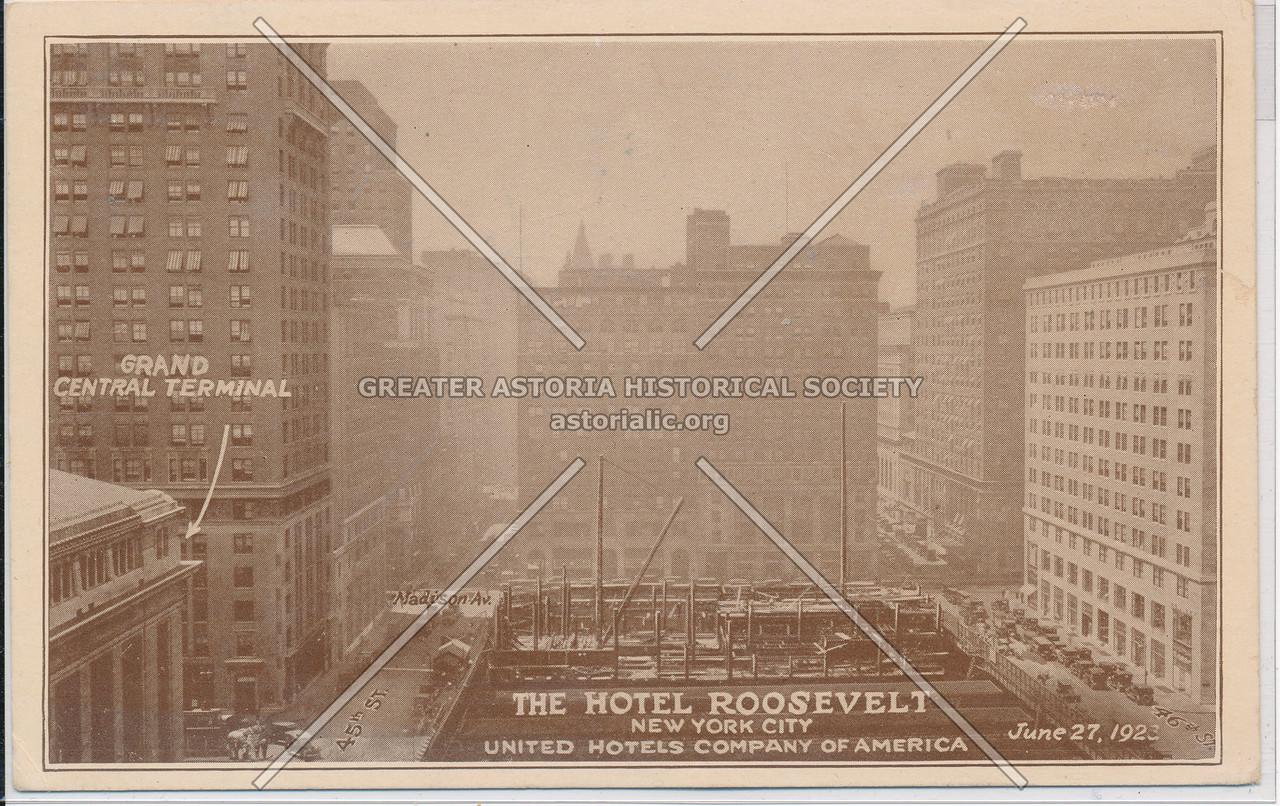 The Hotel Roosevelt, Madison Ave & 45 St., NYC