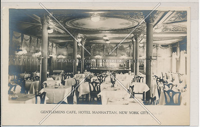 Gentlemens Cafe, Hotel Manhattan, New York City