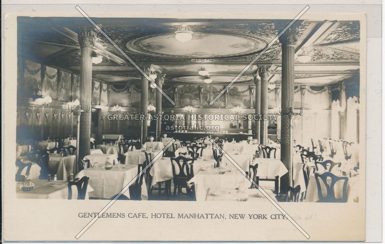 Gentlemens Cafe, Hotel Manhattan, New York City
