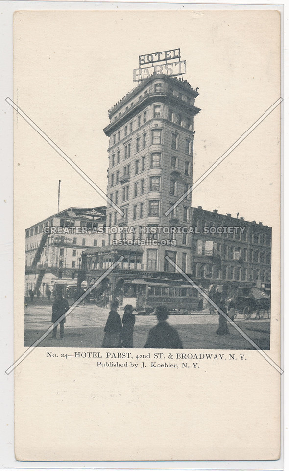 Hotel Pabst, NYC