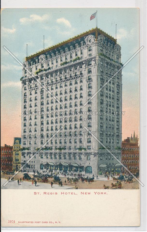 St. Regis Hotel, New York