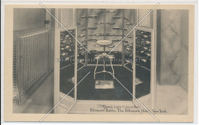 Electric Light Cabinet Bath, Biltmore Baths, The Biltmore Hotel, New York City