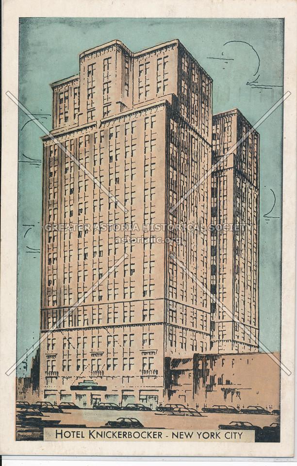 Hotel Knickerbocker, New York City
