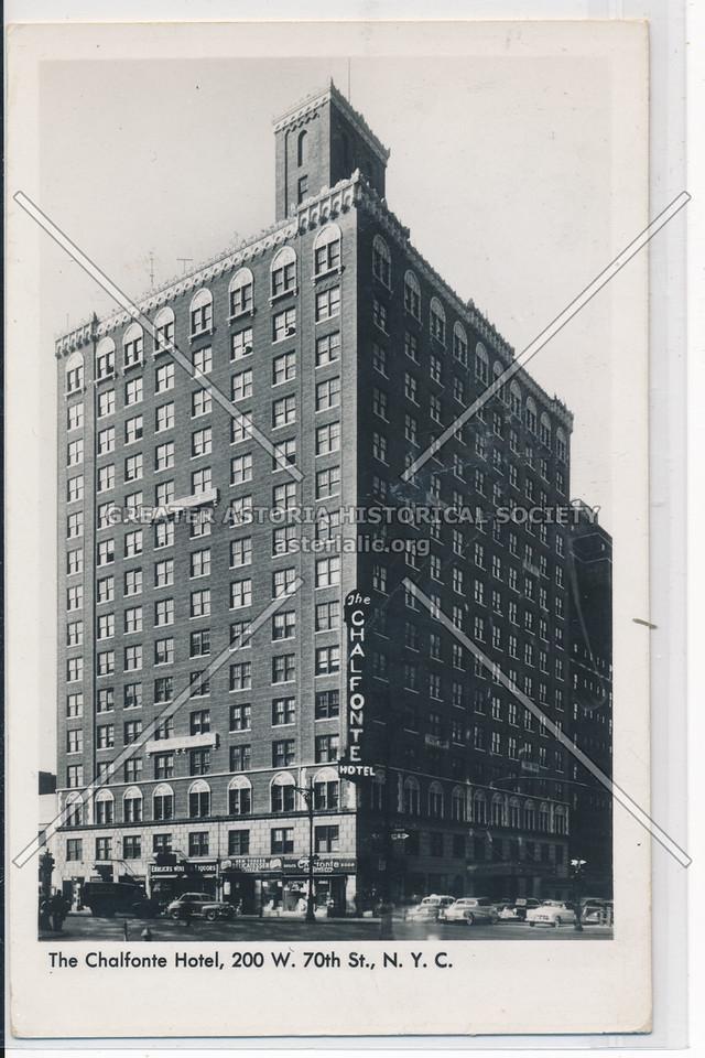 The Chalfonte Hotel, 200 W. 70th St., N.Y.C.