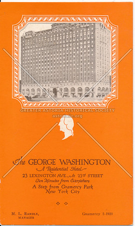 The George Washington, 23 Lexington Ave At 23rd St, NYC