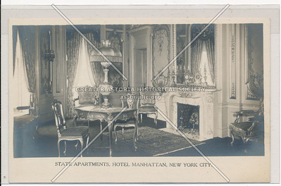 State Apartments, Hotel Manhattan, New York City
