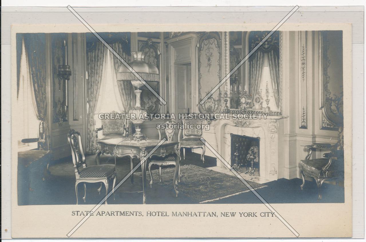 State Apartments, Hotel Manhattan, New York City