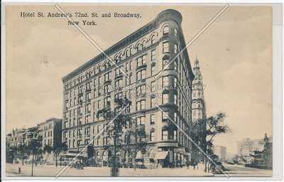 Hotel St. Andrew's 72nd St. and Broadway, New York