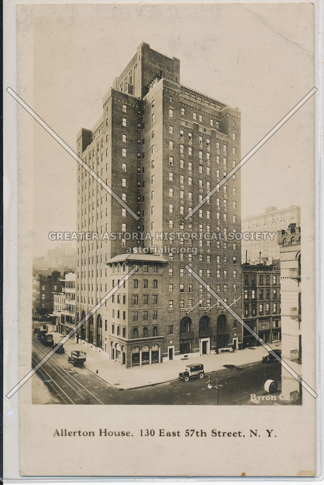 Allerton House, 130 East 57th Street, N.Y.