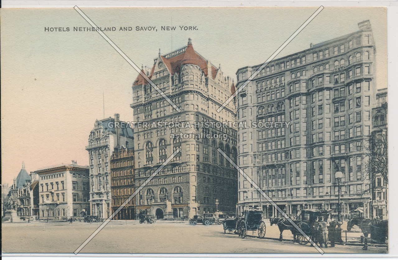 Hotels Netherland And Savoy, New York
