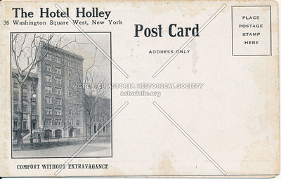 The Holley Apartment Hotel, NYC