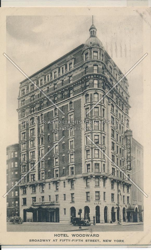 Hotel Woodward, Broadway at 55th Street, New York
