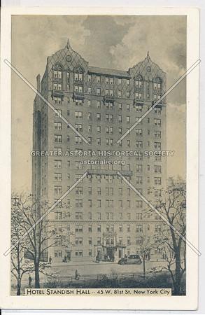 Hotel Standish Hall, 45 W. 81st St., New York City