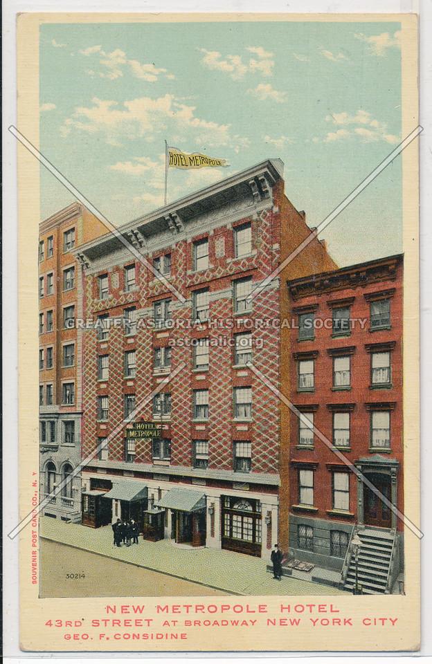 New Metropole Hotel, NYC