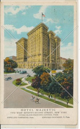 Hotel Majestic, Two West Seventy-Second Street, New York