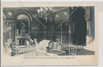 Ladies Parlor, Hotel Manhattan, New York City