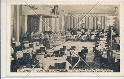 The Century Room -The Commodore, Grand Central Terminal, NYC
