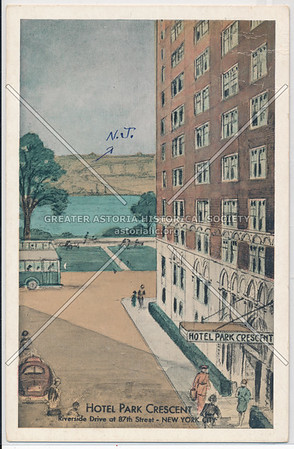Hotel Park Crescent, Riverside Drive at 87th Street, New York