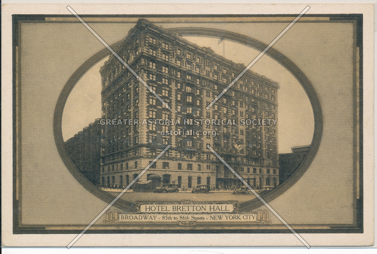 Hotel Bretton Hall, Broadway- 85th to 86th Streets, New York City