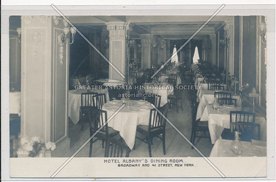 Hotel Albany's Dining Room, Broadway & 41 St, NYC