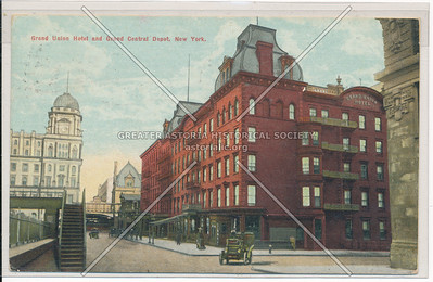 Grand Union Hotel and Grand Central Depot, New York City