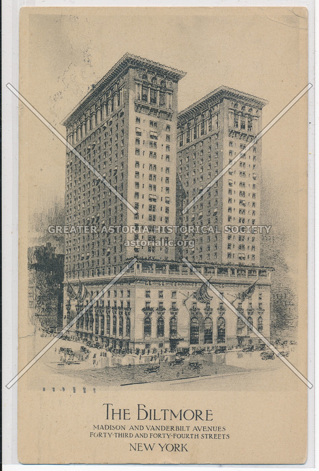 The Biltmore, Madison & 43 St, NYC
