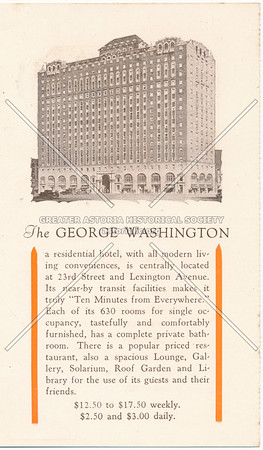 The George Washington, NYC