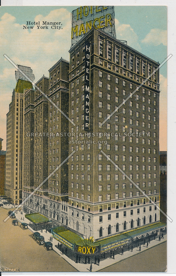 Hotel Manger, New York City