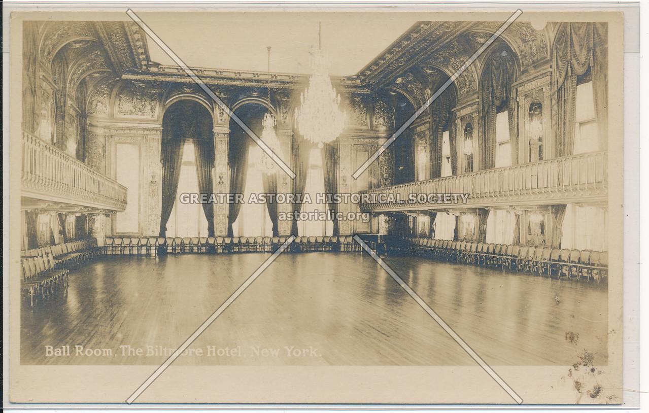 Ball Room, The Biltmore Hotel, New York City