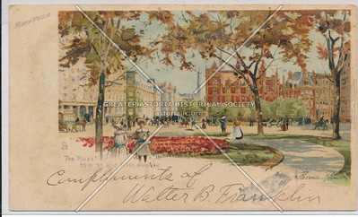 The Plaza, 59th St And Fifth Ave., New York