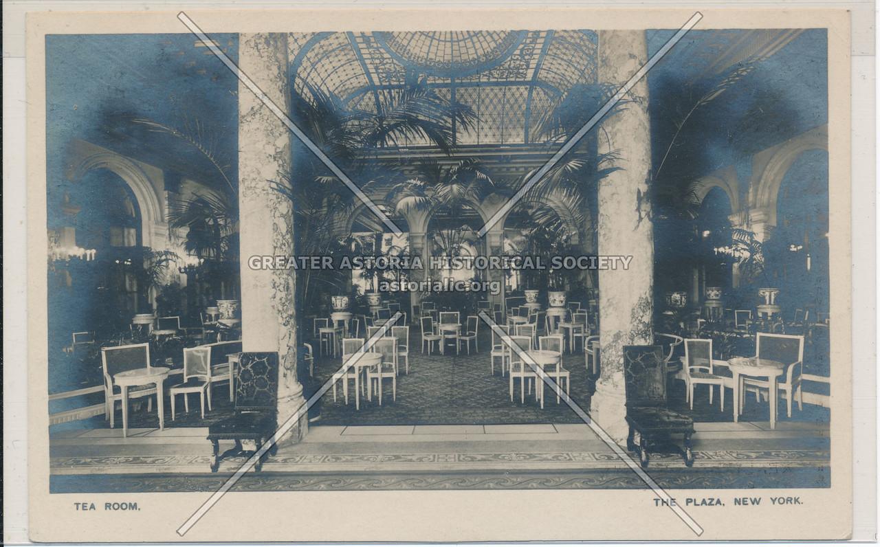 Tea Room, The Plaza, New York